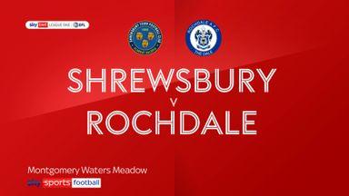 Shrewsbury 1-2 Rochdale