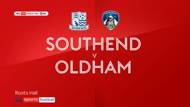 Southend 1-2 Oldham