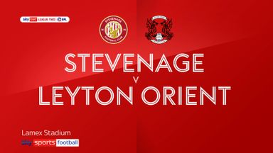 Stevenage 0-2 Leyton Orient