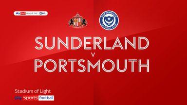 Sunderland 1-3 Portsmouth