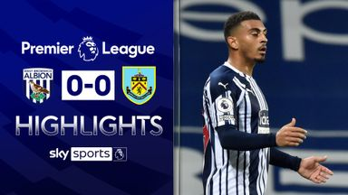 Burnley, West Brom play out stalemate