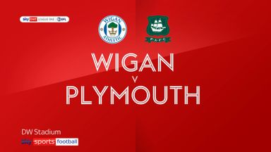 Wigan 1-1 Plymouth