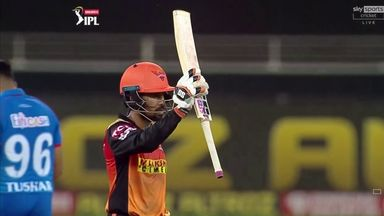 IPL: Sunrisers vs Delhi highlights