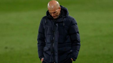 'Next two games pivotal for Zidane'