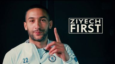 First: Hakim Ziyech