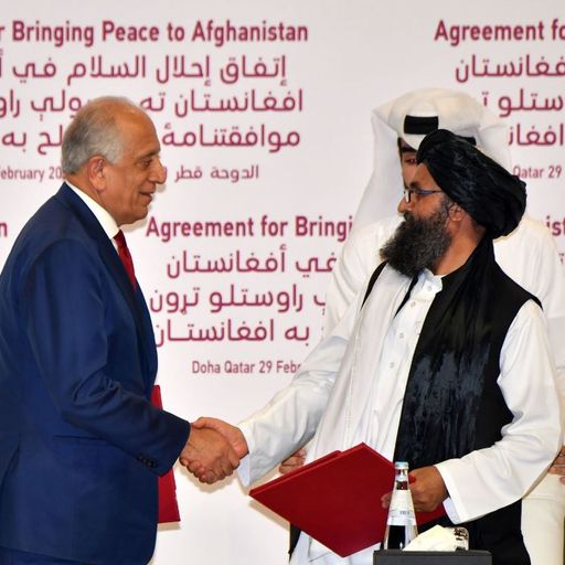 Afghanistan: US and Taliban sign historic peace deal