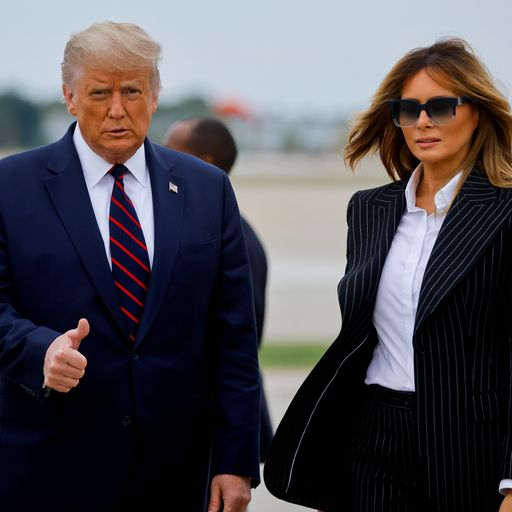 Timeline of US president's movements with wife Melania before testing positive for COVID-19