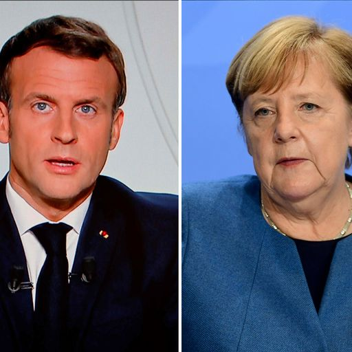 France and Germany announce second national lockdowns