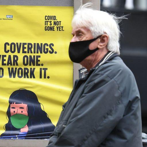 UK reports 143 coronavirus deaths - highest daily figure since June