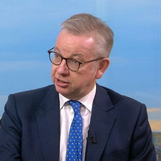 Michael Gove accuses Greater Manchester mayor Andy Burnham of 'posturing' over COVID rules stand-off
