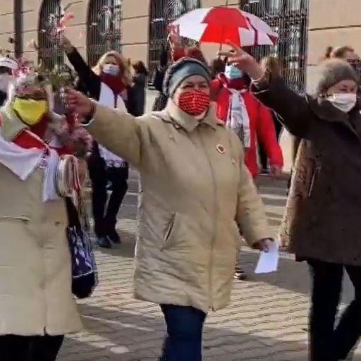 Beatings and intimidation but Belarus demonstrators are still full of street spirit