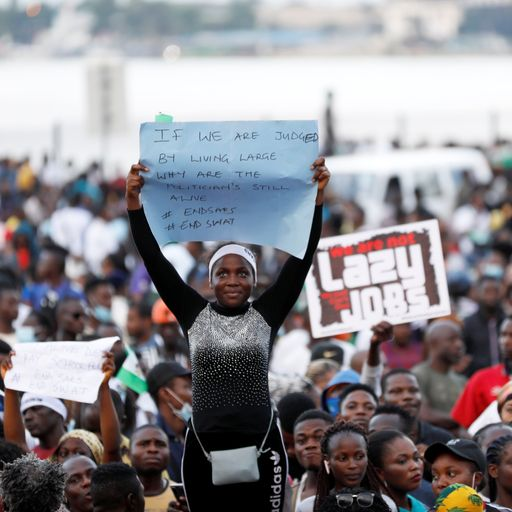 Why Nigeria's anti-police brutality protests have gone global
