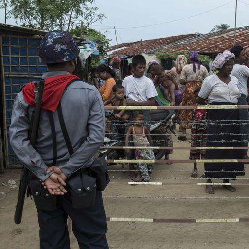 Rohingya 'killed' leaving camps