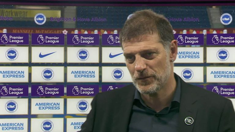 Bilic was happy with West Brom's 1-1 draw with Brighton