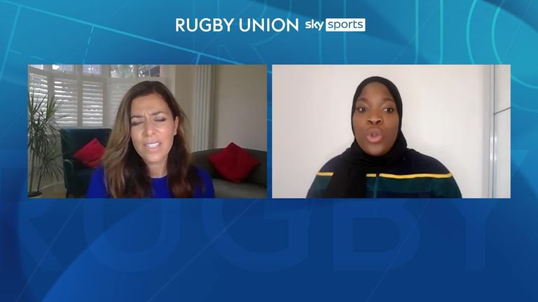 Zainab Alema on belonging in Rugby