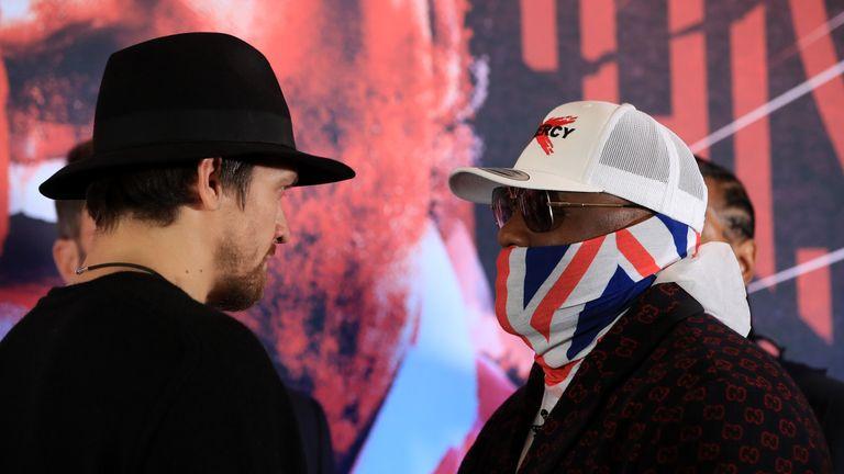 Usyk vs Chisora: Oleksandr Usyk hints he'll floor Derek Chisora without landing hardest shot | Boxing News