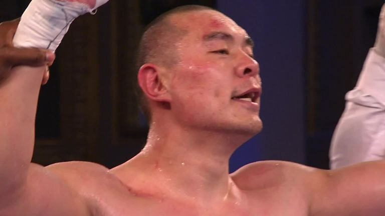 "Zhilei Zhang targets Derek Chisora and Joe Joyce – ""We're getting closer to a world title shot""    Boxing News"