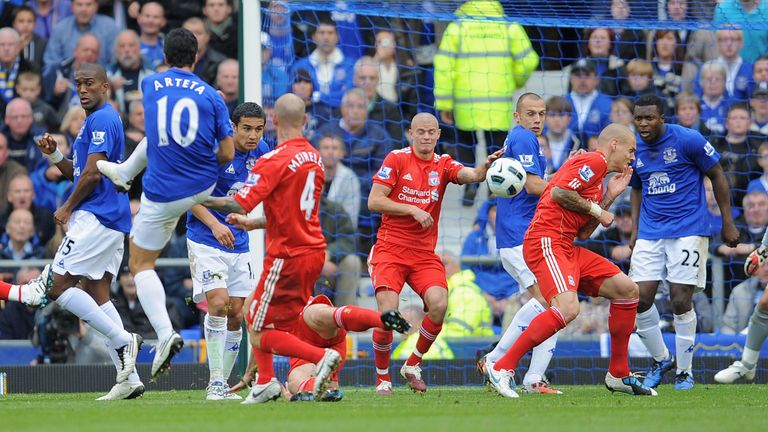 PL Vault | Everton 2-0 Liverpool (2010) | Video | Watch TV Show | Sky Sports