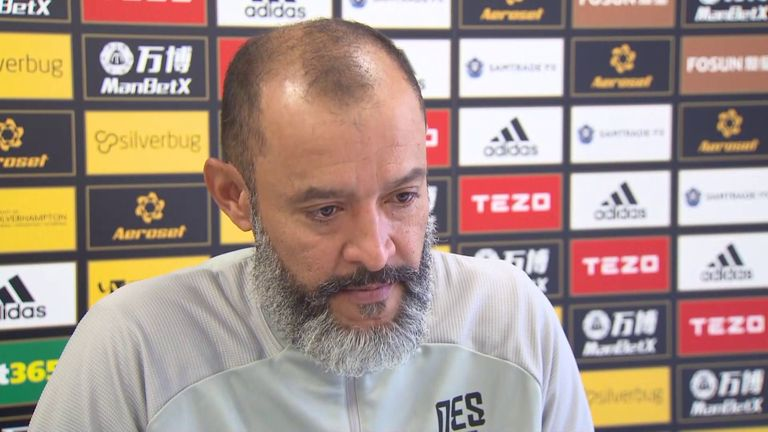 Nuno is hopeful he will be able to pick from a full squad against Leeds