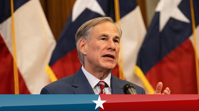 Texas Governor Greg Abbott announces the reopening of more Texas businesses during the COVID-19 pandemic at a press conference at the Texas State Capitol in Austin on Monday, May 18, 2020