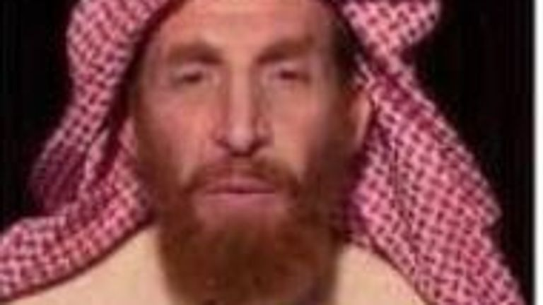 Abu Muhsin al-Masri is believed to have been al Qaeda's number two. Pic: @NDSAfghanistan