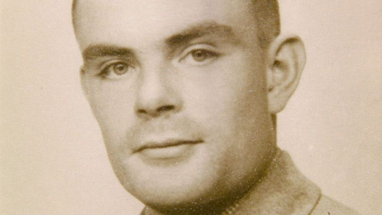 Alan Turing was among the 9,000 employees at Bletchley Park that helped shorten the war