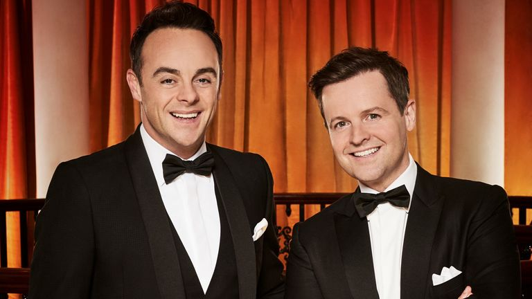 Ant and Dec on Britain's Got Talent. Pic: Syco/ Thames/ ITV