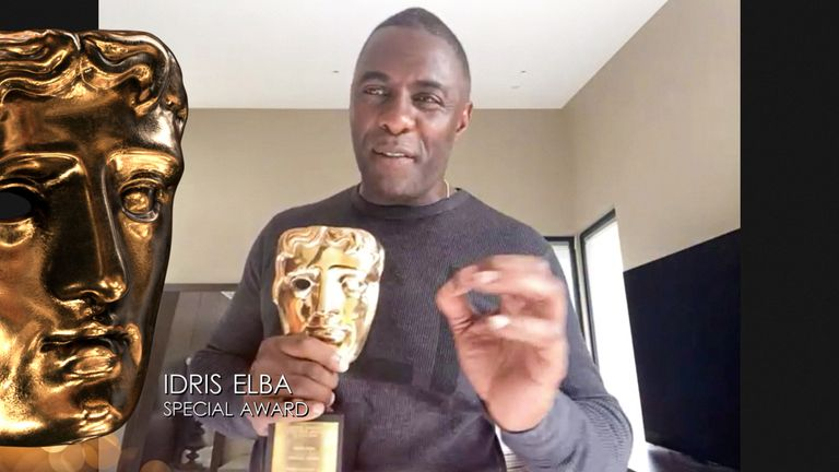 Idris Elba was the Special award winner this year