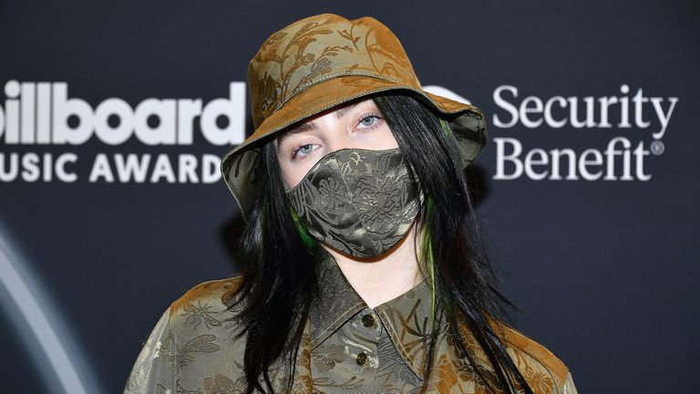 Billie Eilish put her money where her mouth is, urging fans to wear a mask