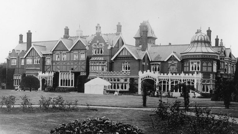 Bletchley Park was bought by the government in the 1930s and became the home of the codebreakers