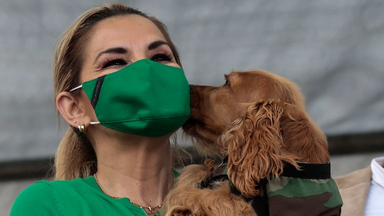 Bolivian President Jeanine Anez signed a law protecting animals after recovering from coronavirus