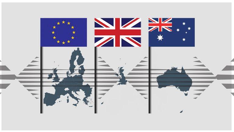 Brexit UK Australia trade deal thumbnail
