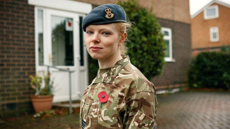 RAF Doctor, flight lieutenant Samantha Rawlinson