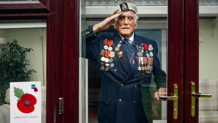 Second World War veteran Bill Taylor