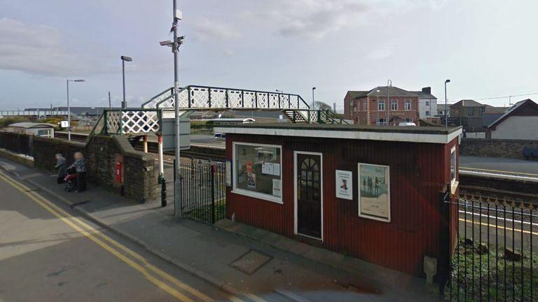 Burry Port station. Pic: Google