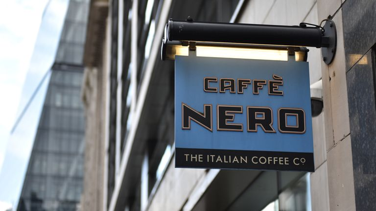 A Cafe Nero store