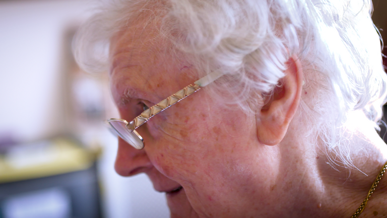 Shirley Scott is being forced to move aged 85 as her care home is closing down