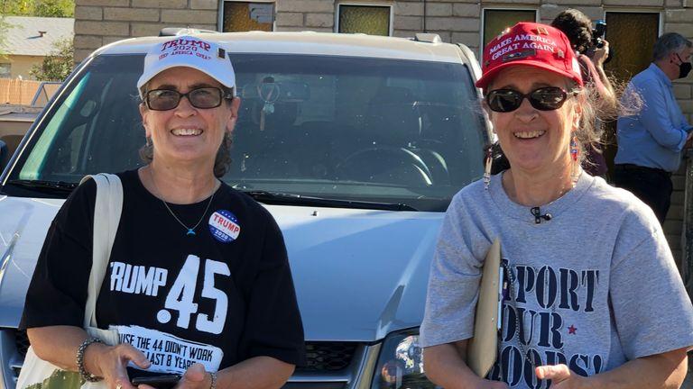 Twins Carol and Karen Fay