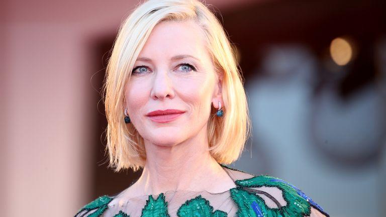 Cate Blanchett at the Venice Film Festival