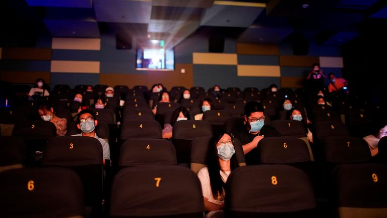 Chinese cinemas have been bolstered by hit domestic films like Second World War dramaThe Eight Hundred