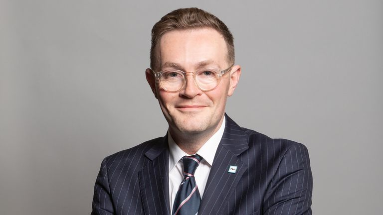 Chris Clarkson, Conservative MP for Heywood and Middleton. Pic: UK Parliament
