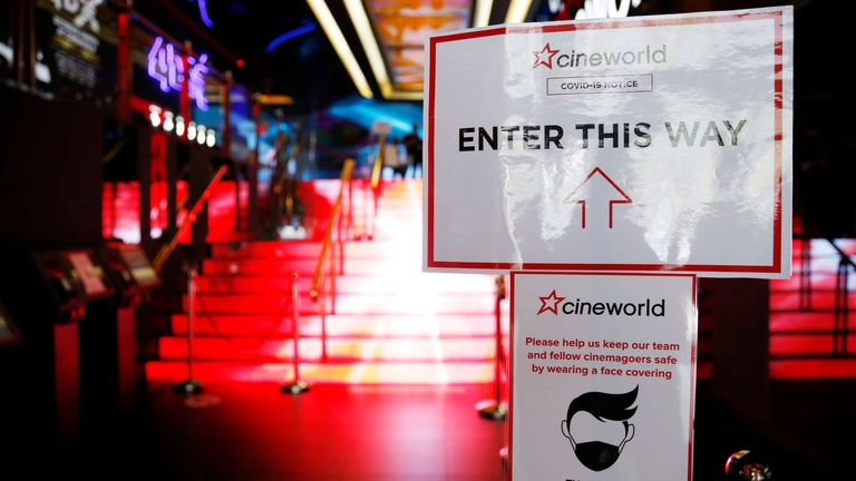 Cineworld is one of the world's biggest cinema operators