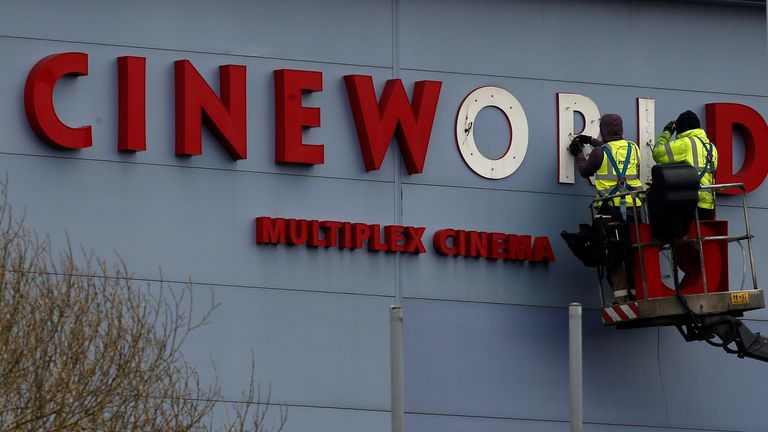 Cineworld is one of the world's biggest cinema operator