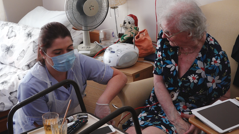 Shirley Scott, who has Parkinson's disease, contracted coronavirus in March