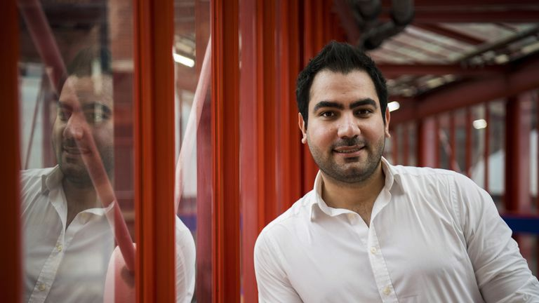 Queen's Birthday Honours List 2020 EMBARGOED TO 2230 FRIDAY OCTOBER 09 Software engineer Ali Ghorbangholi who has been awarded an OBE for services to volunteering during the Covid-19 response, photographed in London.