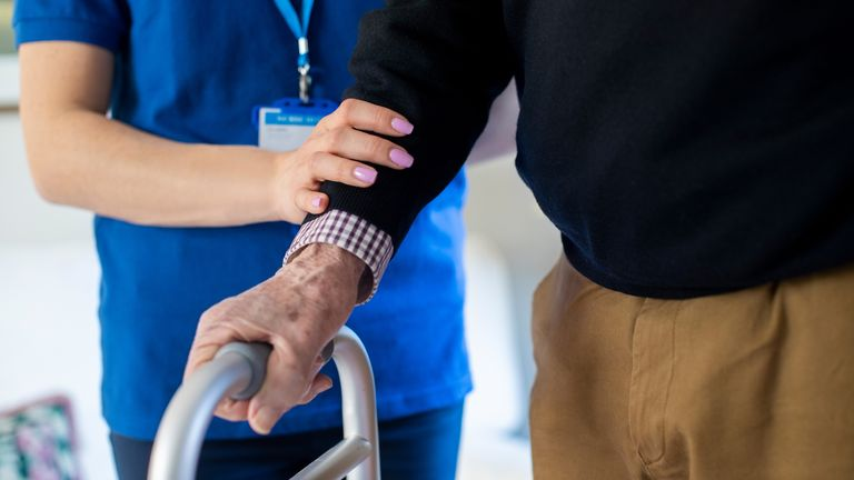 Care home COVID-19 cases in some pockets of the UK have risen sharply