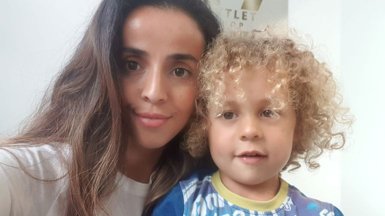 Kais Chaudy spent six days in a coma after catching COVID-19. Pic: Supplied by parents 26/10/20