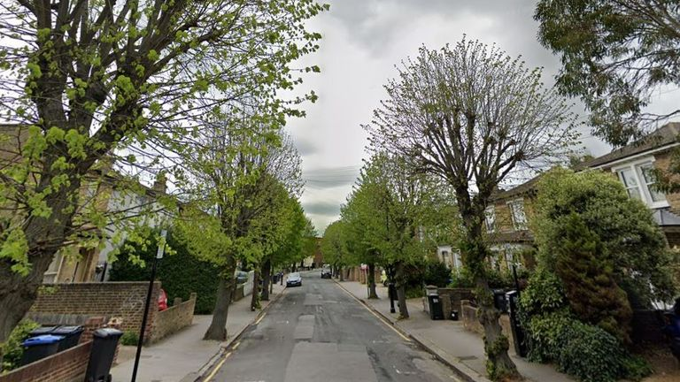 Police were called to an address on Clyde Road, Croydon, south London. Pic: Google Street View