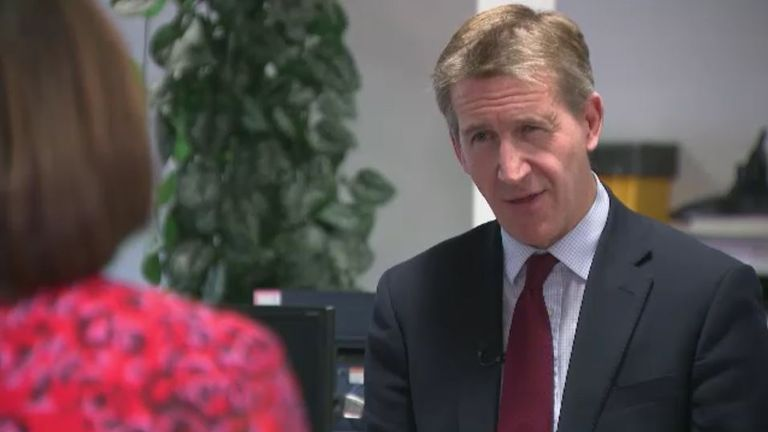 Sheffield metro mayor Dan Jarvis told Sky News he'd back a lockdown if there was more financial support