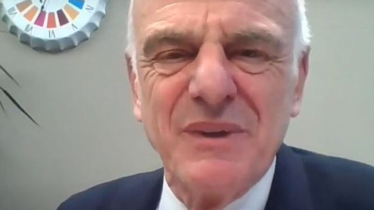 Dr David Nabarro from the WHO said the UK needed to 'sort out test, trace and isolate'